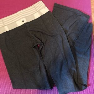 Lululemon boot leg pants